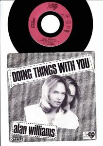 The Rubettes - Alan Williams - Doing Things With You -7 Inch Vinyl - FRANCE - Bad Sachsa, Deutschland - The Rubettes - Alan Williams - Doing Things With You -7 Inch Vinyl - FRANCE - Bad Sachsa, Deutschland