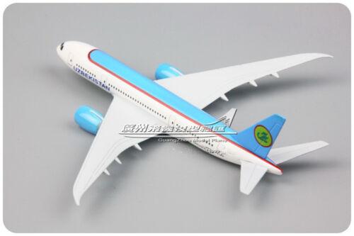 Solid UZBEKISTAN DREAM LINER BOEING 787-8 Passenger Airplane Plane Diecast Model
