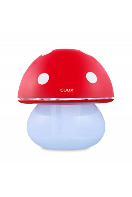 Duux Air Humidifier and Night Light Mushroom Red Grade A+