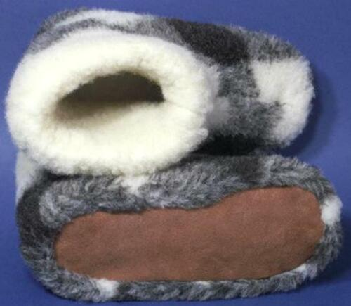 Healthy Woolen Mens SLIPPERS Comfortable winter boots furry mules snugg valenki