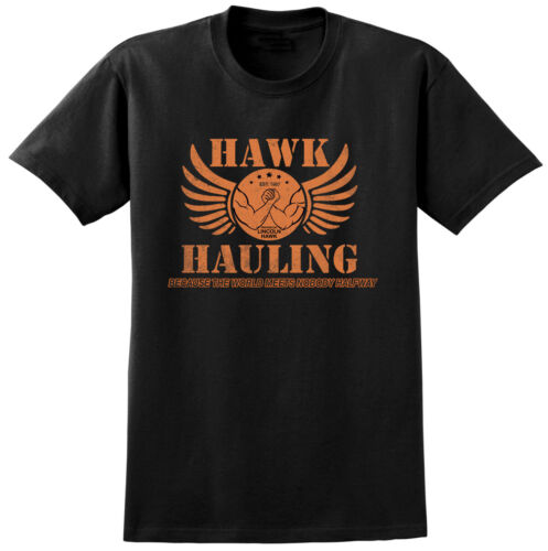 Retro Classic Cult 80s Movie Film Hawk Hauling Over the Top Inspired T-shirt