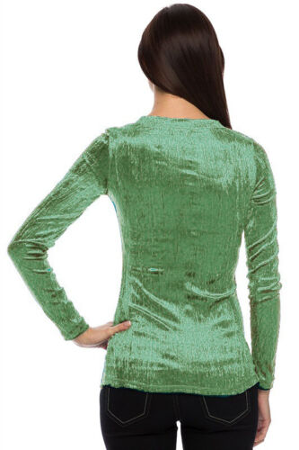 NEW Velvet Turtle Neck Long Sleeve Fitted Top Knit Layer T-shirt STORE CLOSING!