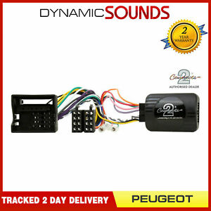 CTSPG007.2 Kenwood Steering Control Adaptor For Peugeot 207 208 307 308 407 807