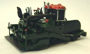 Barber-Greene-879a-Paver-Finisher-40-RW3-UNPAINTED-OO-Scale-Langley-Models-Kit