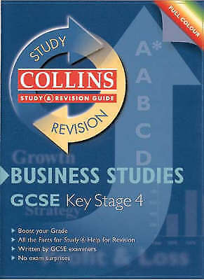 (Good)-Collins Study and Revision Guides - GCSE Business Studies (Collins Study