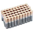 50 PCS Duracell AAA Alkaline Batteries Long Lasting Bulk Strip Packed Exp 2026