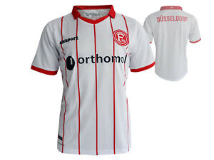 Details Zu Uhlsport Fortuna Dusseldorf Fussball Trikot Weiss F95 Home Fan Jersey Gr S Xxl