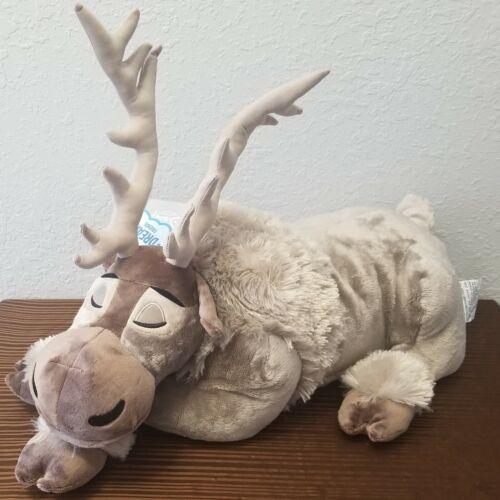 Disney Parks Sleeping Sven Dream Friends Sleeping Plush Pillow FROZEN Reindeer