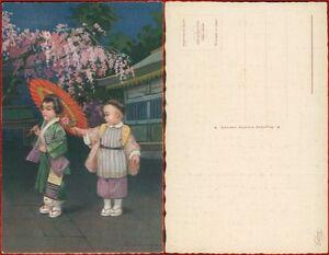 Colombo-cartolina-bambini-cinesi