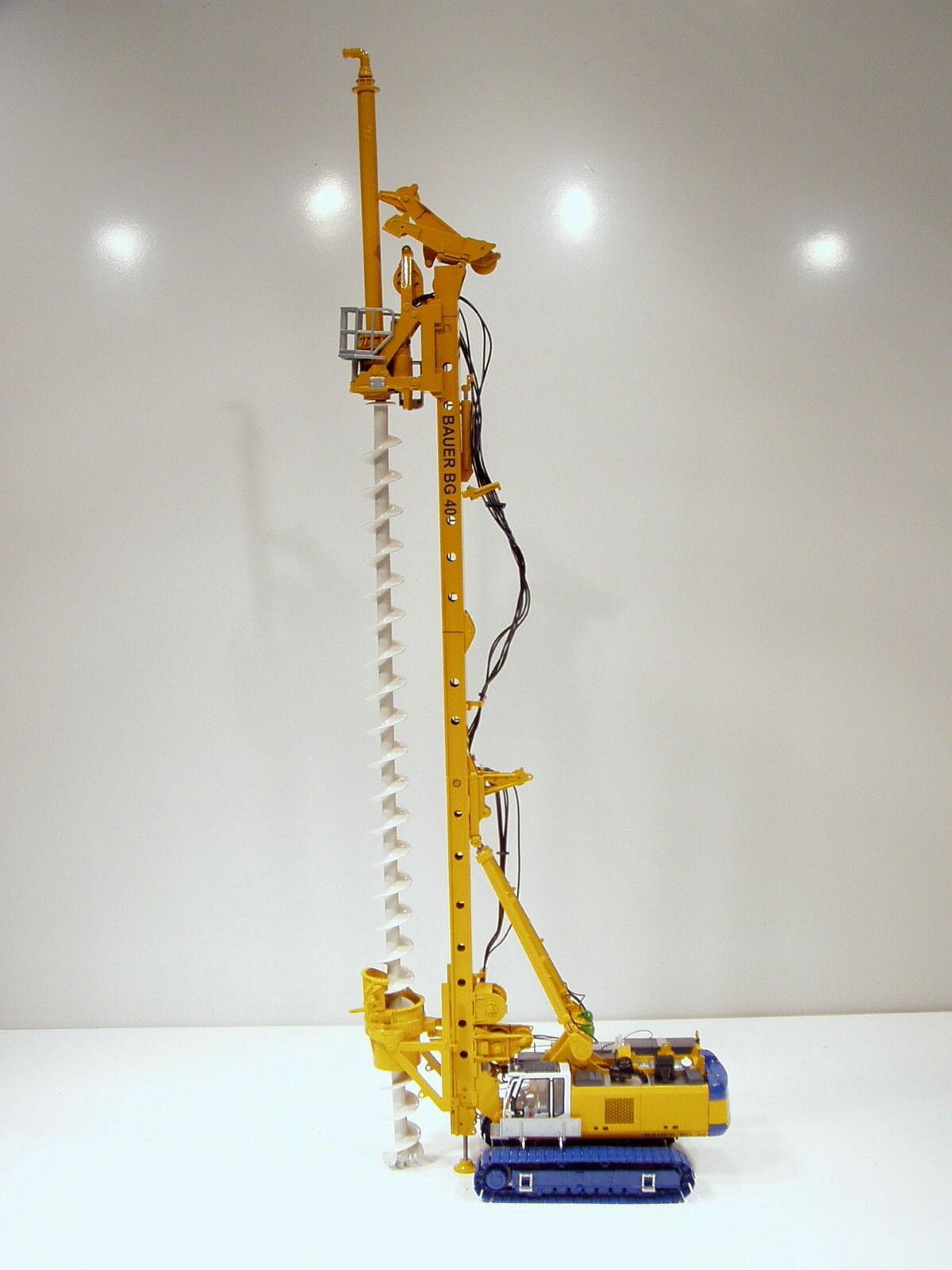 Bauer BG40 Drilling Rig - 1 50 - Brami  25009 - Brand New