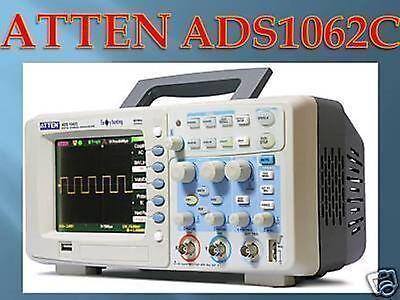 Atten Ads1062 Ads1062c 60mhz Digital Oscilloscope Dso Large Assortment Oscilloscopes & Vectorscopes