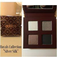 Lorac The Royals Collection Eyeshadow Palette Quad In Silver Silk - Le - Bnib