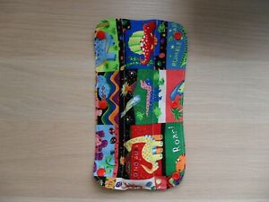 Kids-Handmade-Seat-Belt-Pad-Reversible-dinosaurs-white-red-polka-dot-48