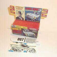 Corgi Toys  261 Aston Martin DB5 James Bond empty Reproduction Box & Inserts