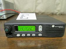 E Motorola Mcs 2000 Mobile Radio 800mhz Uhf 250 Channels M01hx812w As Is