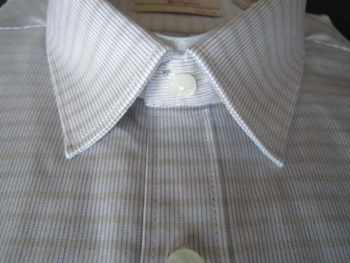 Nuevo vestir Munsingwear 781910432647 Manga Lienzo Blanco 32 de Camisa Penguin Hombres larga 33 16 Slim CCqHnrx