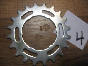 18 TOOTH FREE WHEEL  BIKE SPROCKET CHROME BMX CRUISER BICYCLES