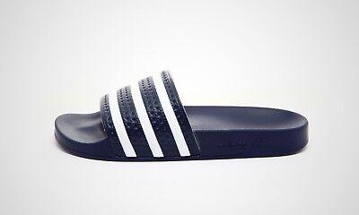 Adidas Adilette (blau / Weiß) - Neu