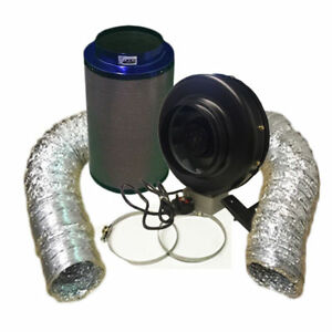 """10/"""" HIGH POWER FAN AND 10/""""//600 PREMIUM VIPER CARBON FILTER KIT"""