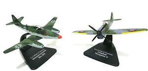 ATLAS-OXFORD-1-72-WWII-DUELLING-FIGHTERS-MESSERSCHMITT-ME262-amp-HAWKER-TEMPEST-V