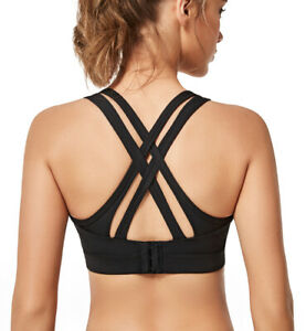 Yvette Women/'s Zipper Front High Impact Support Full Figure Plus Size Sports Bra