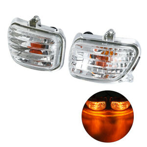 Clear-Front-Plastic-Turn-Signal-Lights-For-Honda-Goldwing-GL1800-01-17-02-05-09