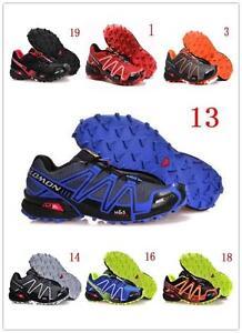 Men-039-s-Salomon-Speedcross-3-Athletic-Running-Sports-Outdoor-Hiking-Shoes-7-Style