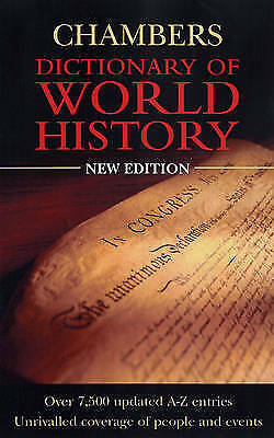 , Chambers Dictionary Of World History, Excellent Book