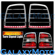 06-10 FORD EXPLORER Taillight trim+Brake+Turn Signal Function LED Chrome Cover