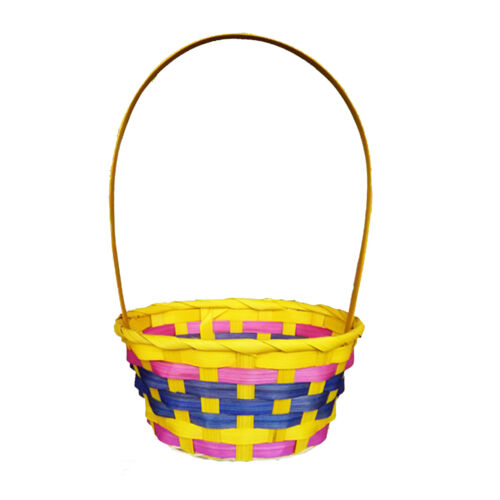 Egg Pouches Gift Wrap Yellow Basket Easter Baskets Grass