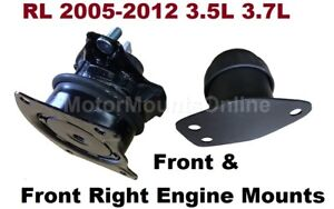 2pc Engine Mounts fit Acura RL 2005 2006 2007 2008 2009 2010 2011 2012 Automatic