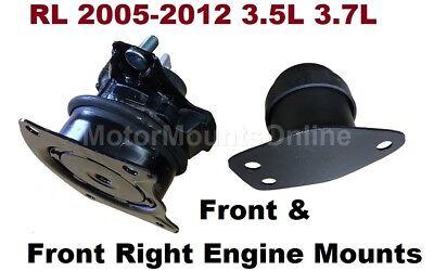 9R1520 2 Hydraulic Motor Mounts fit 2005 2006 2007 2008 2009-2012 Acura RL