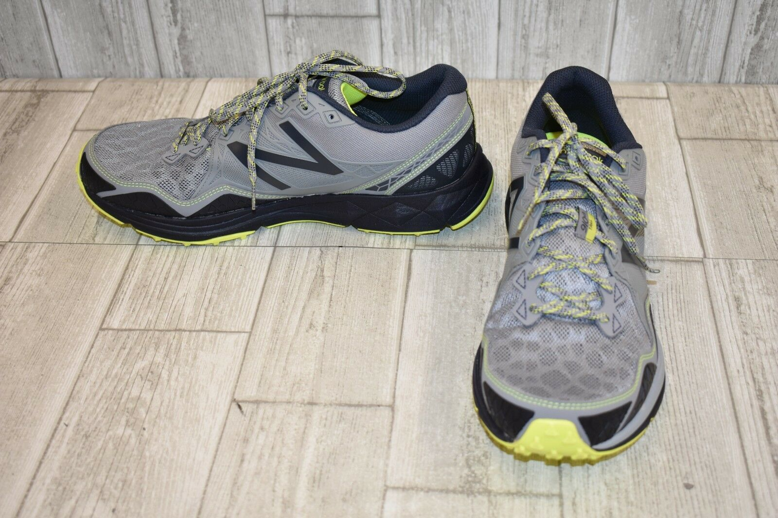 New balance 910 trail running shoes-men's size size size 11.5 d grey 547258