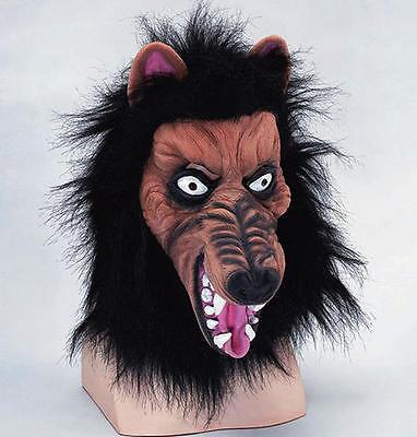 Black Wolf Mask Werewolf Halloween Fancy Dress