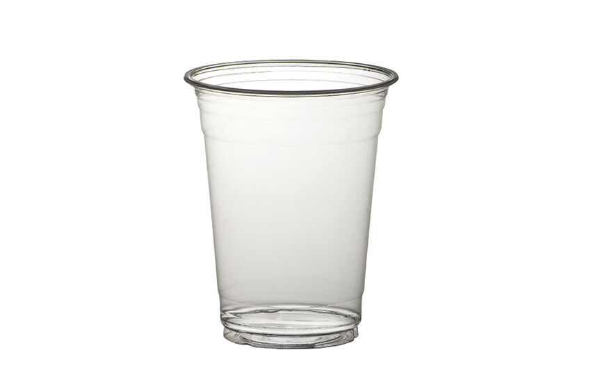 2000 x 9oz Clear Plastic Smoothie Cups Milkshake Cold Disposable Drinks Cup