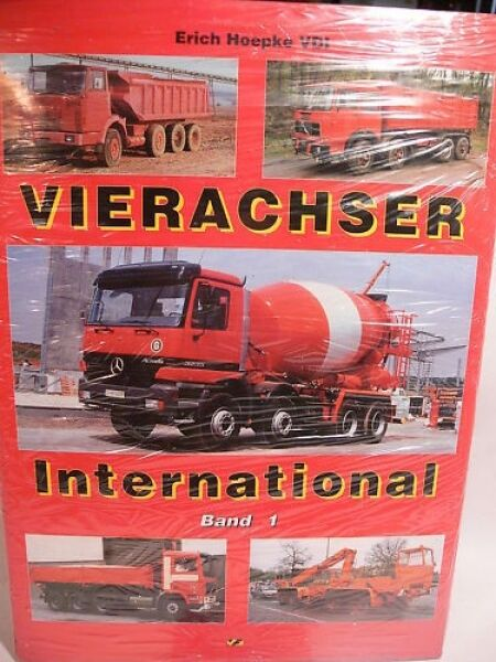 Vierachser International volume 1  Erich Hoepke VDI  nuovo sadico
