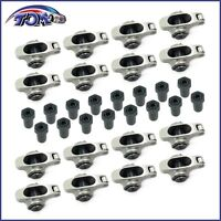 Small Block Chevy 1.5 3/8 Stainless Steel Roller Rocker Arms Sbc 305 350 400