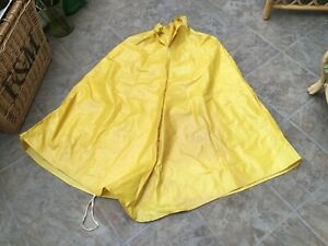 Genuine-Oilskin-Cape-Fisherman-Cycling-Outdoor-Retro-Vintage-Collectable-Film