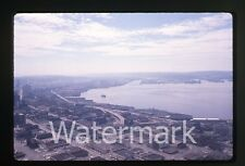 Photo slide 35mm 1960s Ektachrome Seattle WA view from space needle #1