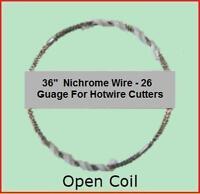 72 Styrofoam Foam Eps Cutter Replacement 26gg Nichrome Hot Wire For 16 Cutter