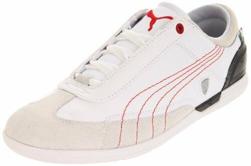 PUMA Men's D Force Scuderia Ferrari 30383 Lace-Up Fashion Sneaker