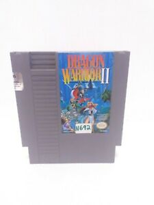 Dragon-Warrior-II-Nintendo-Entertainment-System-1990-Authentic-Fast-Shipping