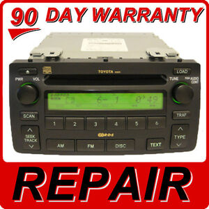 Image Is Loading Repair Service Only Toyota Corolla Radio 6 Disc