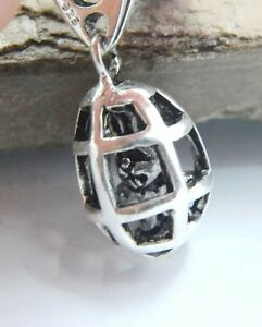 925-SILVER-BEAD-EUROPEAN-CHARM-FOR-BRACELET-CAGE-RABBIT-BUNNY-PIRATE-EASTER-A12P