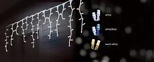 14.9M 600 LED SNOWING ICICLE CHRISTMAS PARTY LIGHTS 8 FUNCTIONS & MEMORY