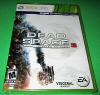 Dead Space 3 Microsoft Xbox 360 Factory Sealed Free Shipping