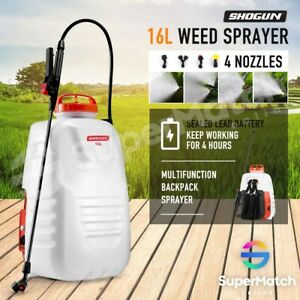 16L-Electric-Weed-Sprayer-Tank-Rechargeable-Backpack-Garden-Pump-Farm-Watering