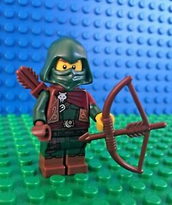 Lego-71013-series-16-FOREST-WARRIOR-Rogue-Archer-Bow-Minifigures-City-Town-New