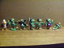 Pgh Pirates Complete Set of Seven (7), Pirates Parrot Figures Giant Eagle, 1989