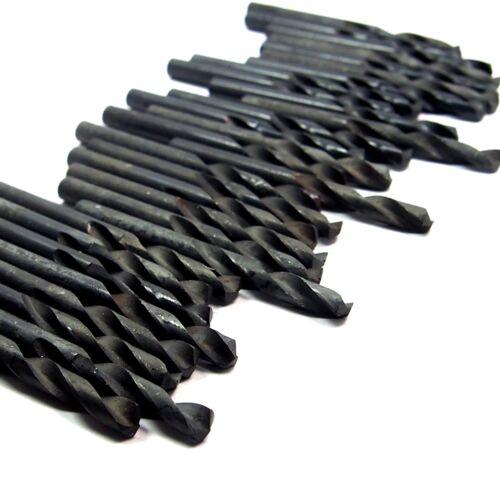 """Screw Machine Drills #10 0.1935/"""" HSS Oxide 1-3//16/"""" LOC/"""" x 2-1//4/"""" OAL 30 Pcs"""